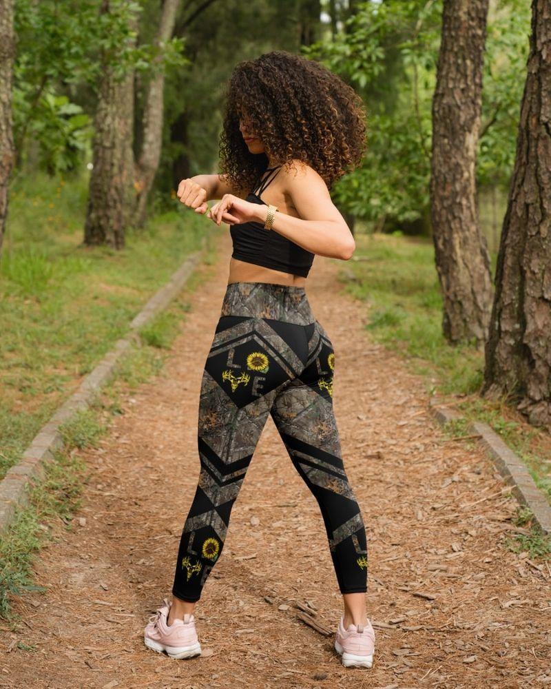 Love hunting sunflower legging 9