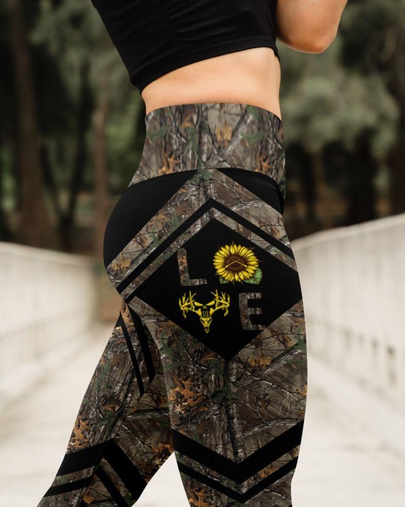 Love hunting sunflower legging 8