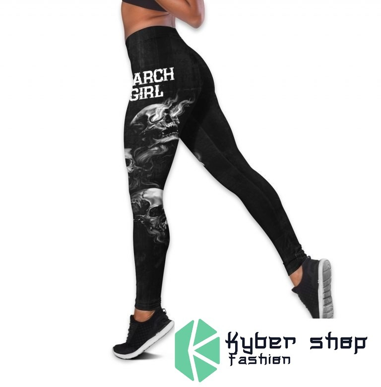 March girl stuck between IDK IDC and IDGAF custom name 3D hoodie and legging 9