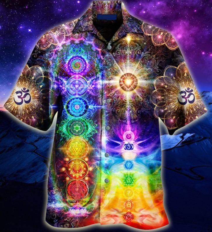 Mind and soul in a harmony chakra hawaiian 9
