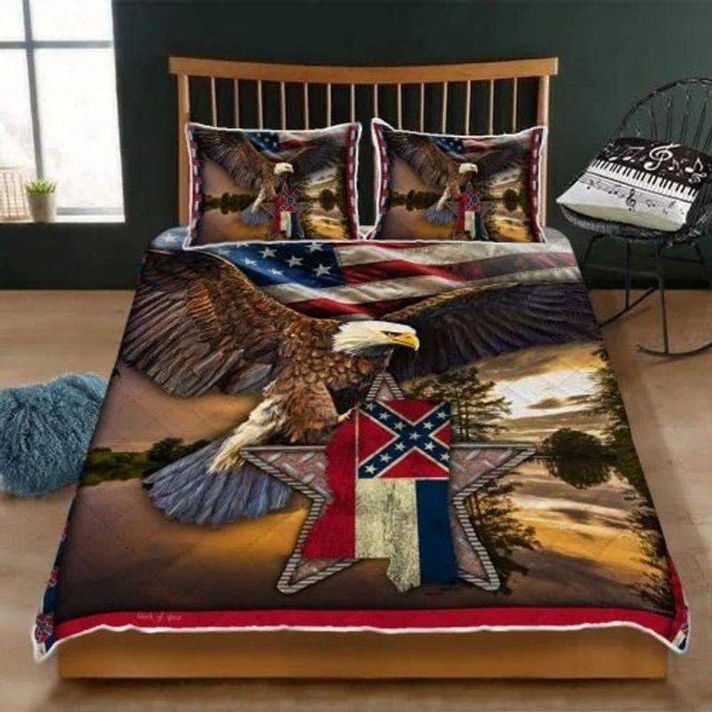 Mississippi eagle bedding set 9