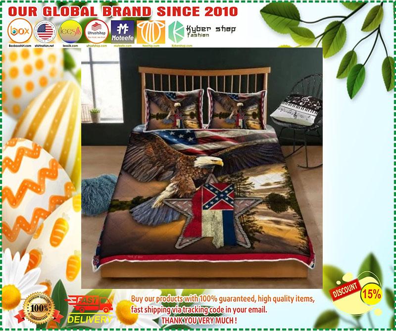 Mississippi eagle bedding set 11