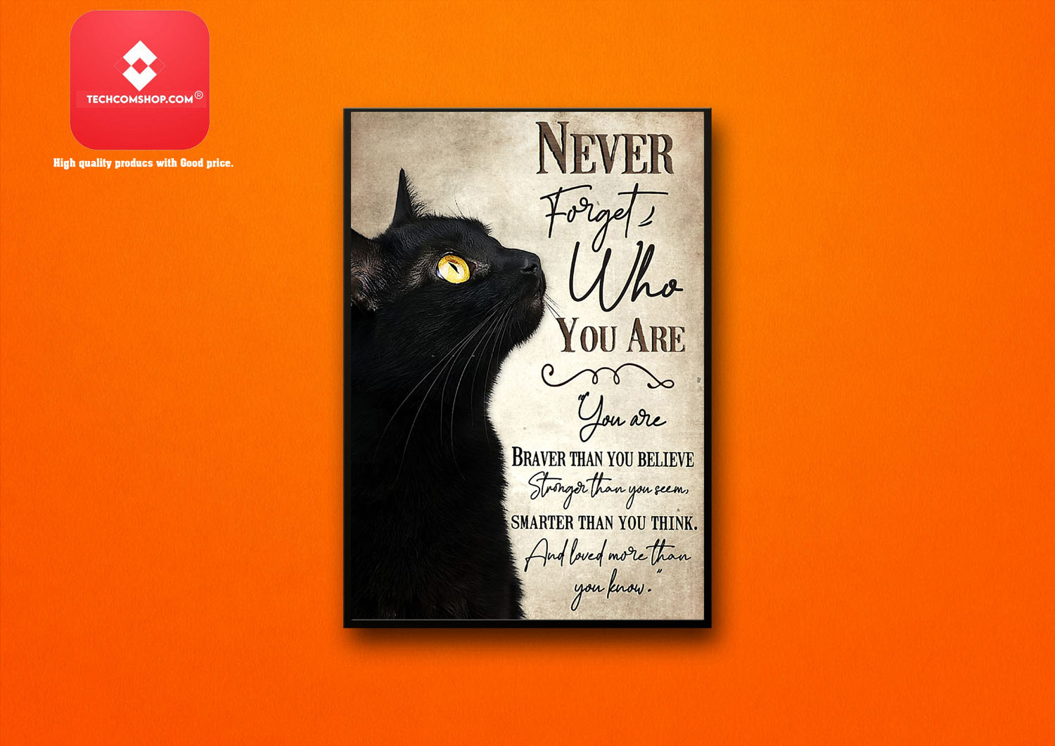 Never forget you are braver than you believe stronger than you seem poster 8