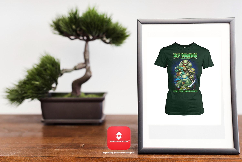 Ninja turtles 37 years 1984 2021 for the memories Shirt 8