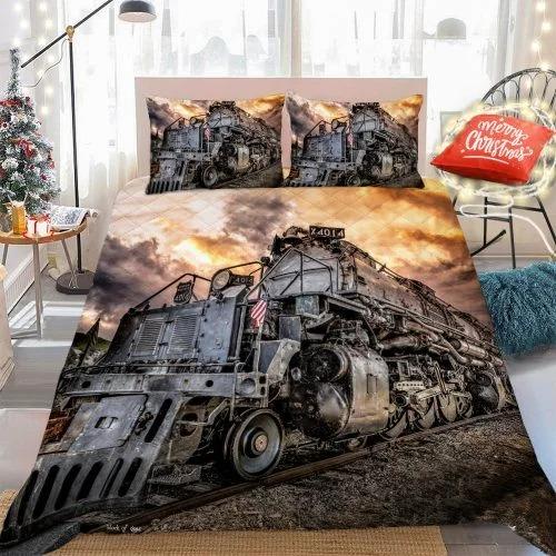 Old railroad bedding set 4