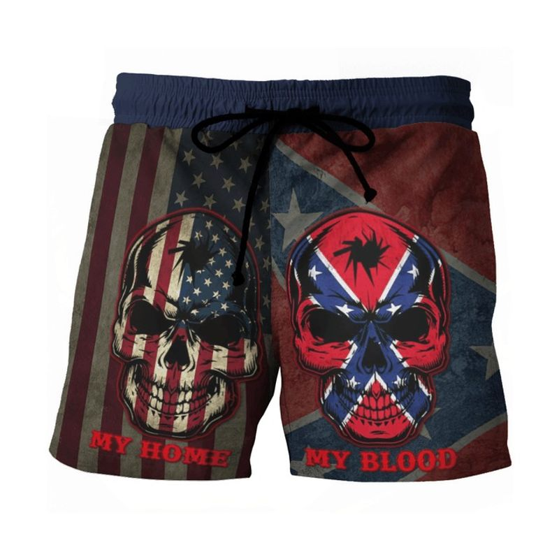 Southern American flag My home my blood pant 8