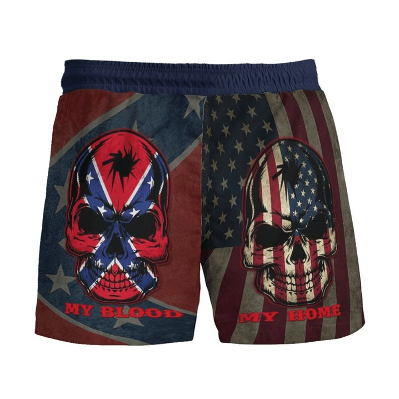 Southern American flag My home my blood pant 9