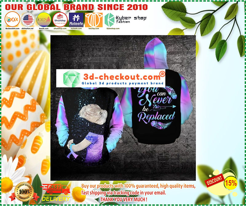 Suicide Prevention Awareness You can never be replaced 3D hoodie 10