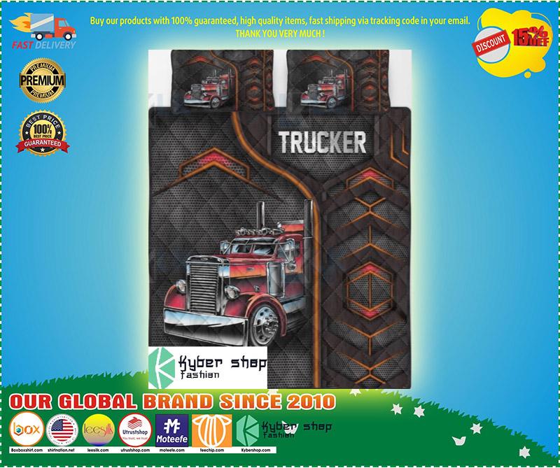 Trucker bedding set 9