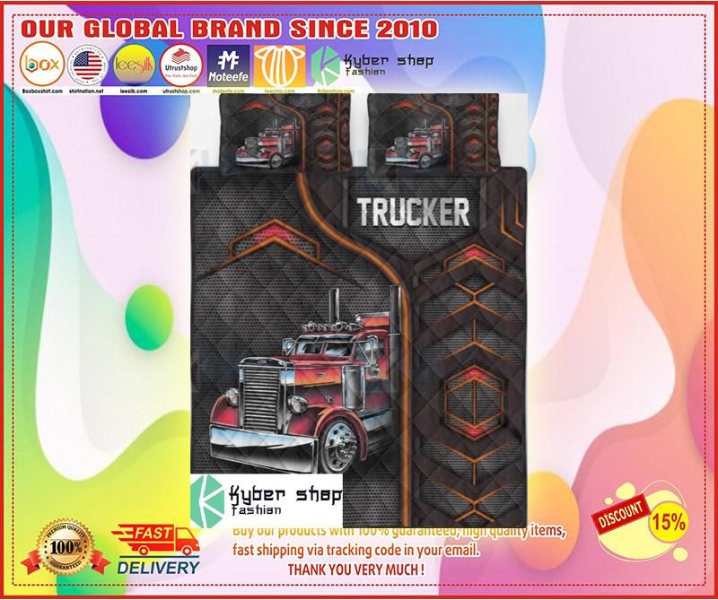 Trucker bedding set 10