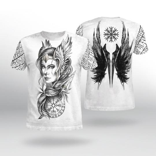 Viking Goddess freya 3D hoodie 3
