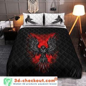 Viking raven bedding set 2