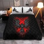 Viking raven bedding set 1
