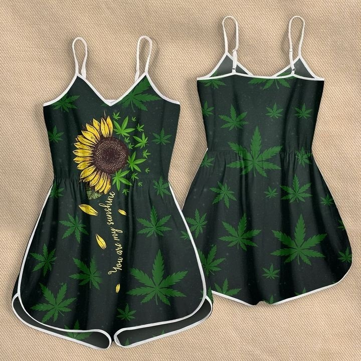 Weed you are my sunshine rompers 9