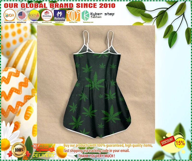 Weed you are my sunshine rompers 10