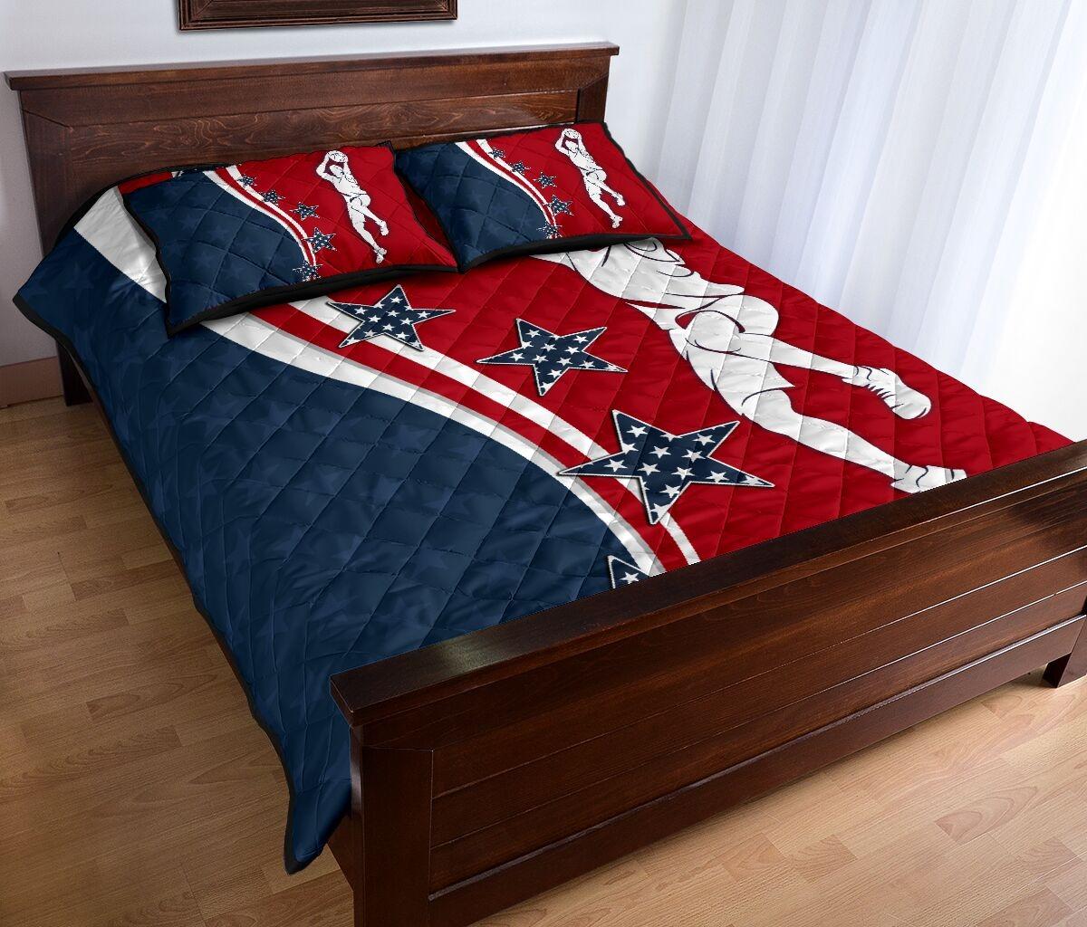 American baseketball quilt bedding set 11