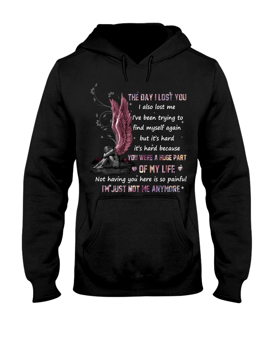 Angel The Day I Lost You Were A Huge Part Of My Life Im Just Not Me Anymore Shirt 11