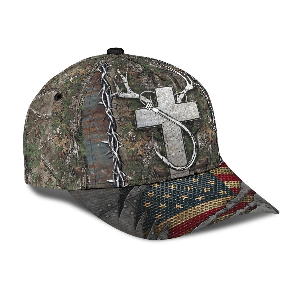 Christian hunting fishing lover cap 9