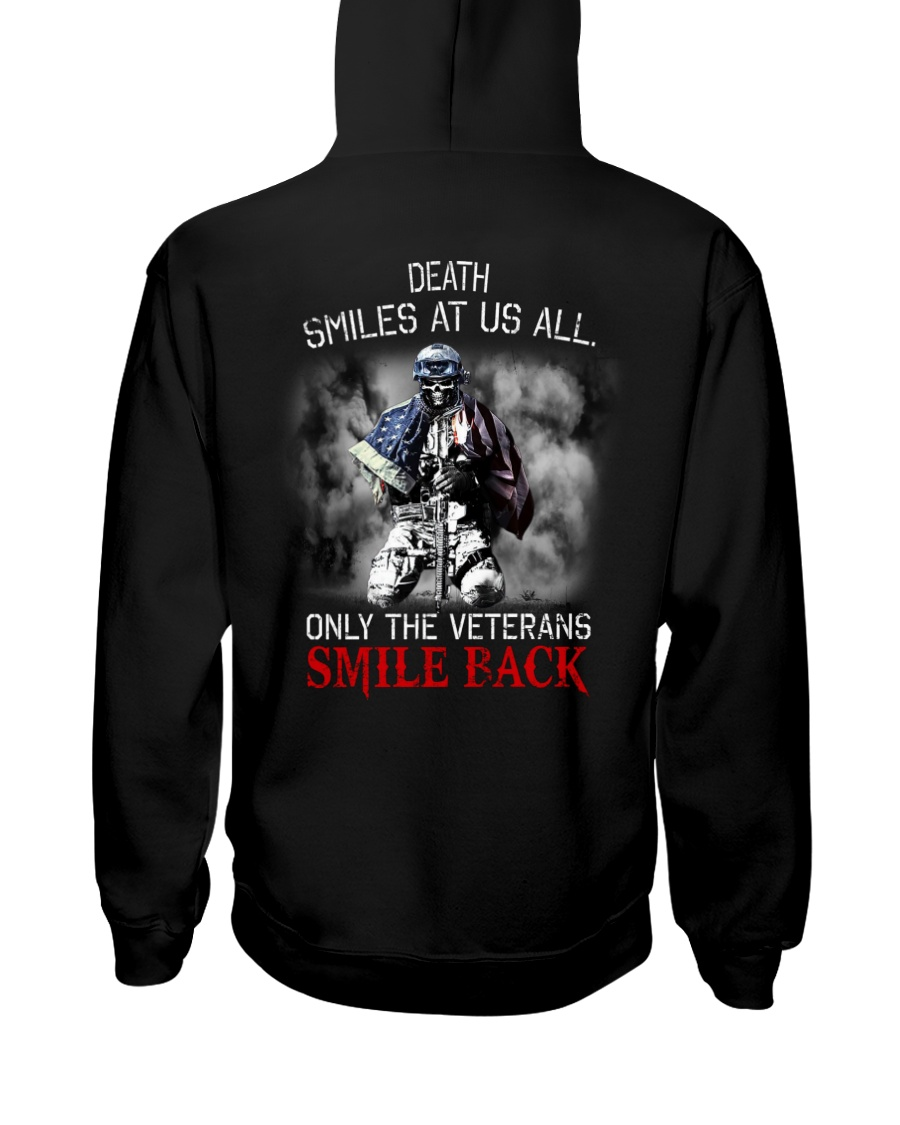 Death Smiles At Us All Only The Veterans Smile Back Shirt 12