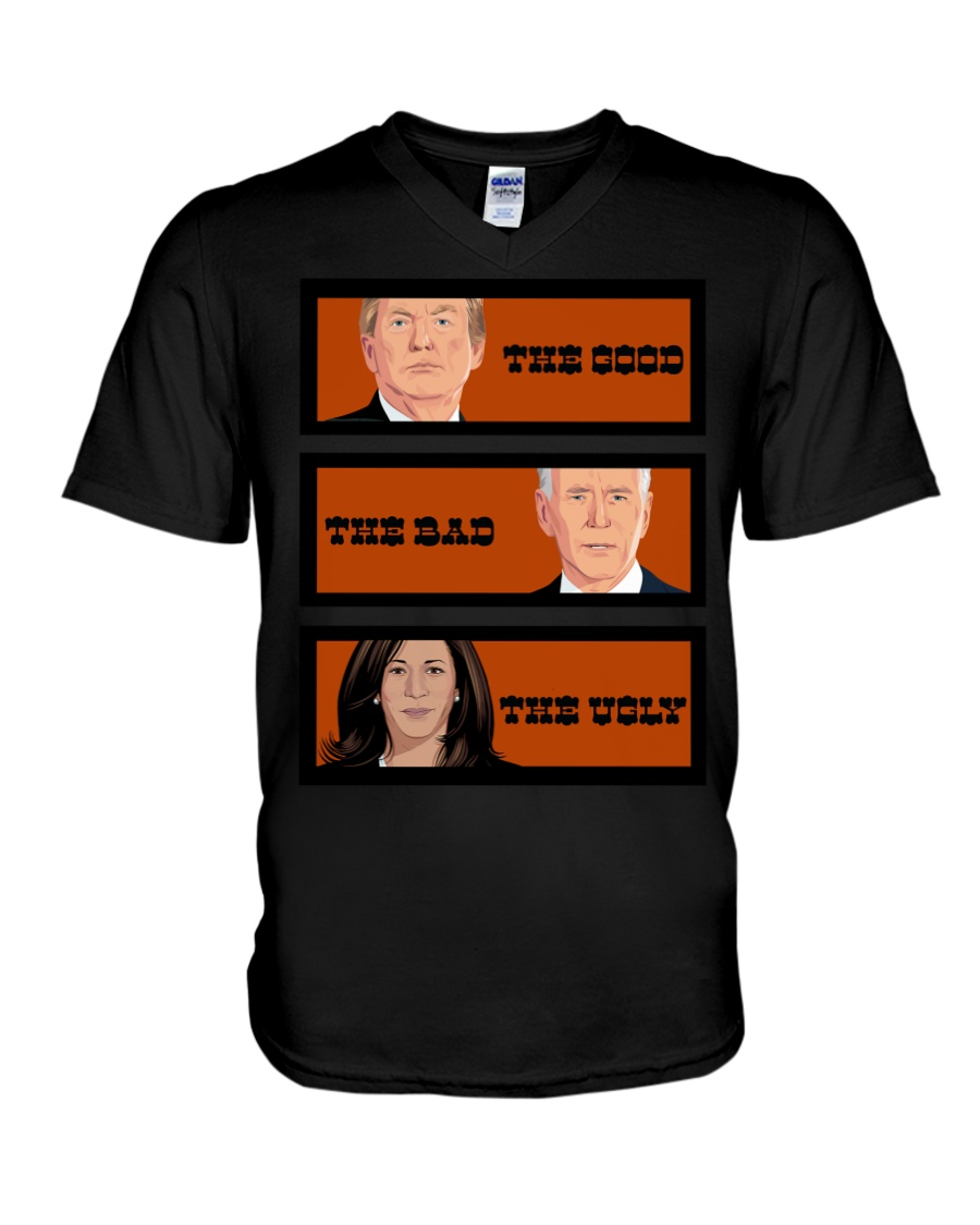 The Good The Bad The Voly Donal Trump Biden Shirt 10
