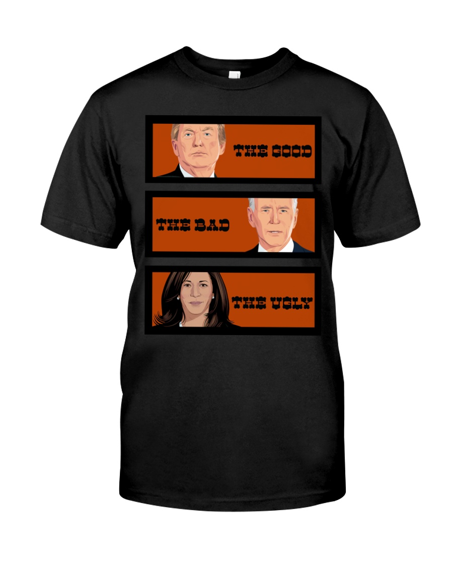 The Good The Bad The Voly Donal Trump Biden Shirt 13