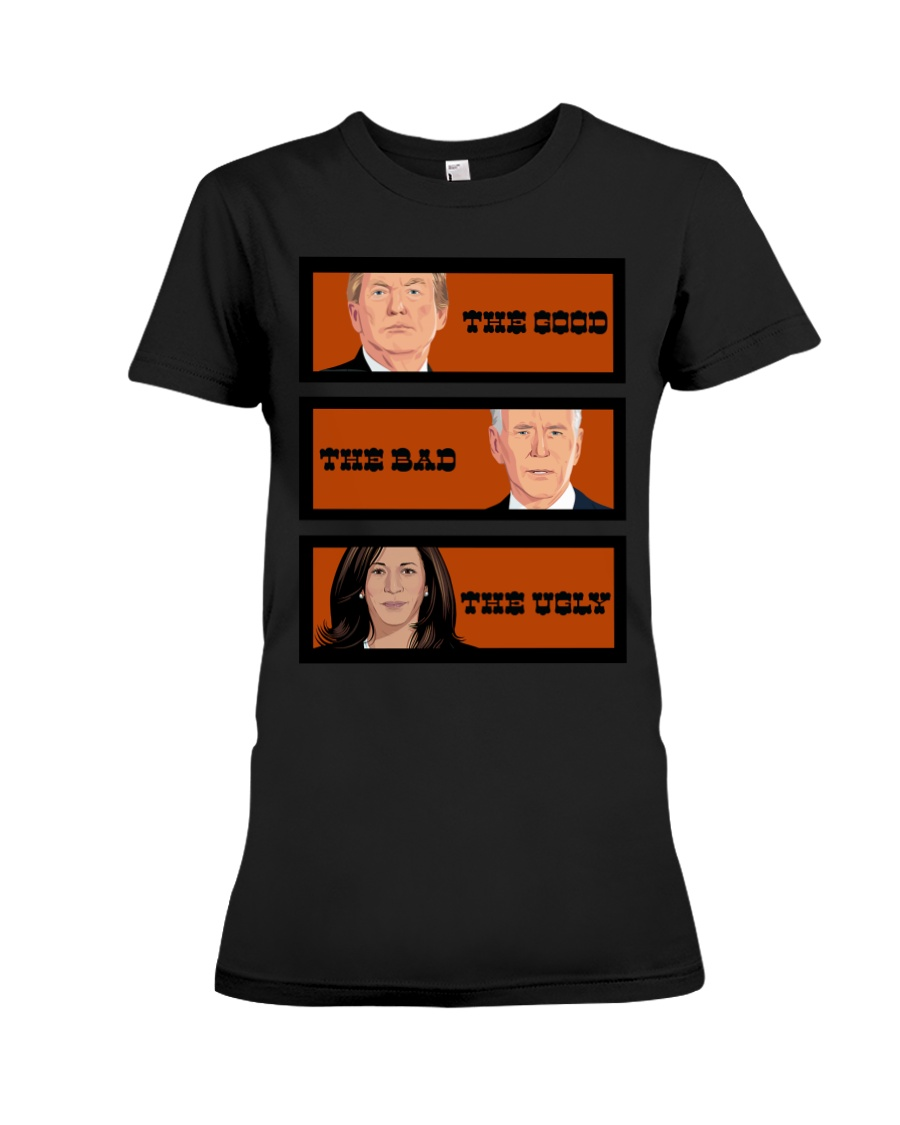 The Good The Bad The Voly Donal Trump Biden Shirt 12