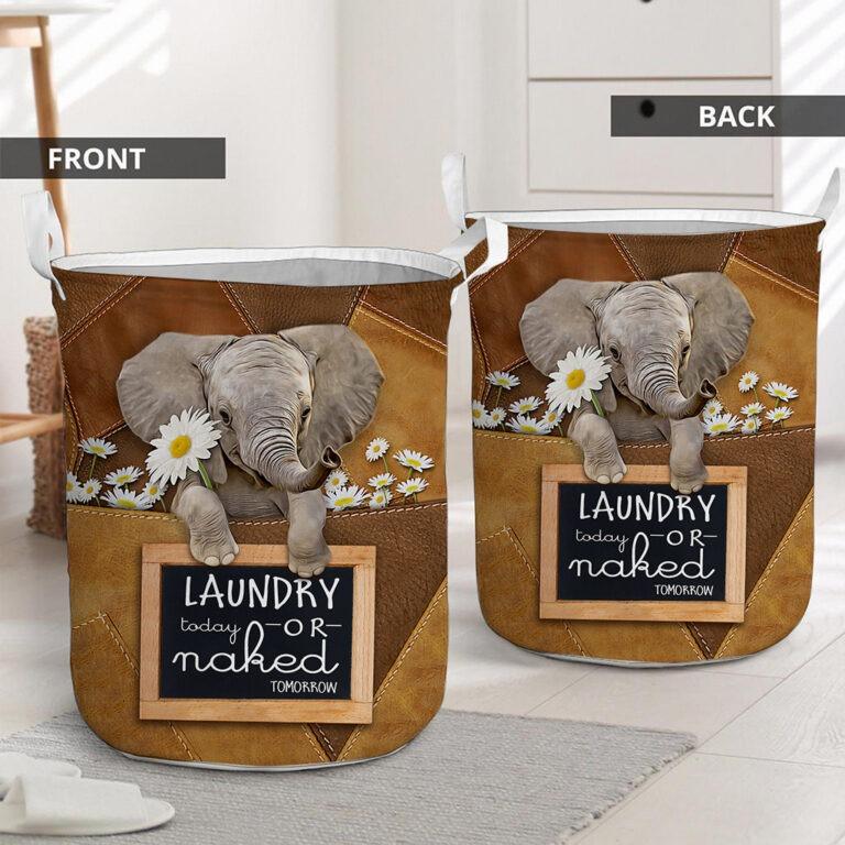 Elephant laundry today or naked tomorrow basket laundry 7