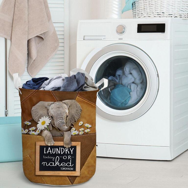 Elephant laundry today or naked tomorrow basket laundry 9