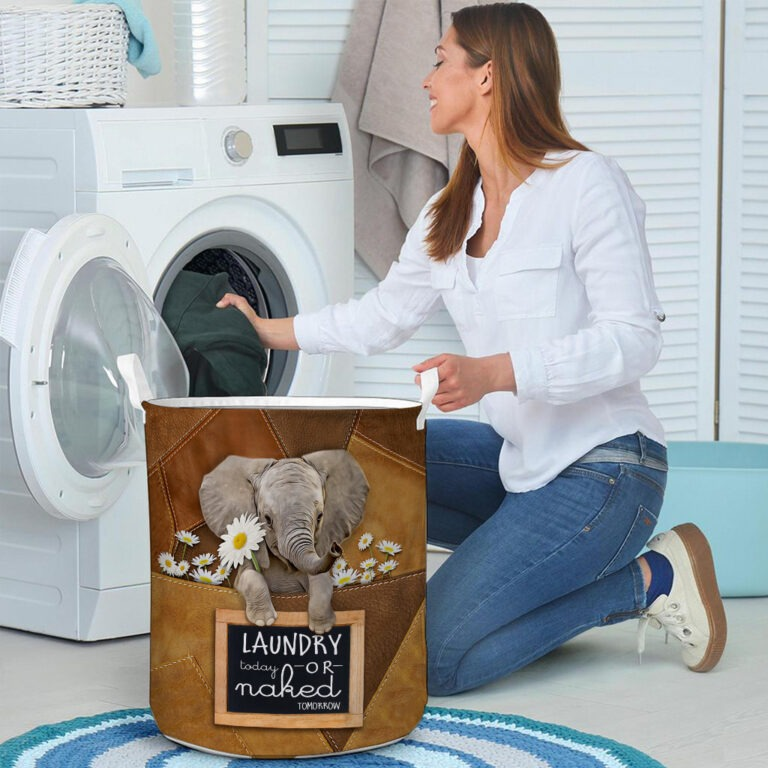 Elephant laundry today or naked tomorrow basket laundry 8