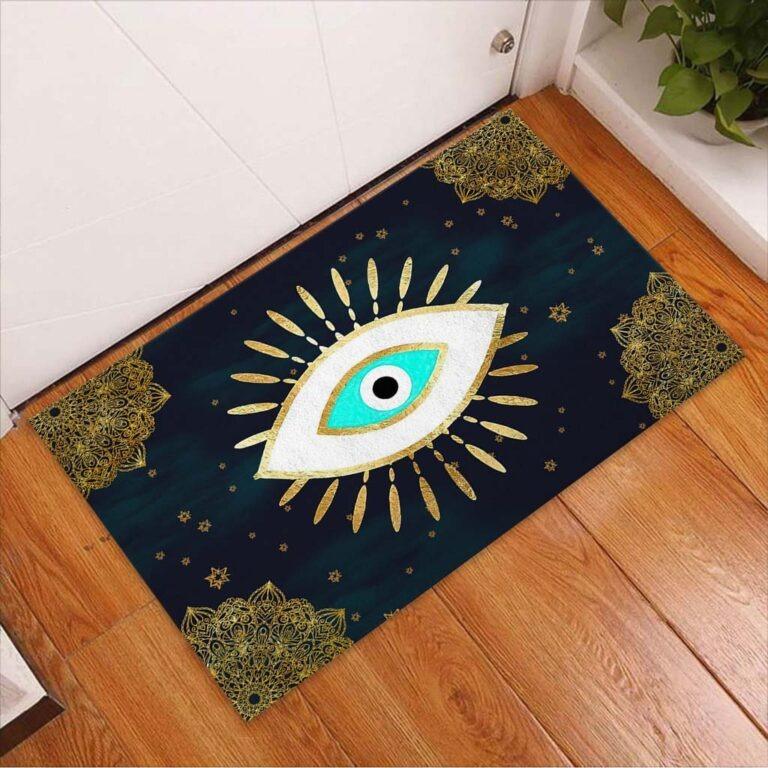 Evil eye doormat 9
