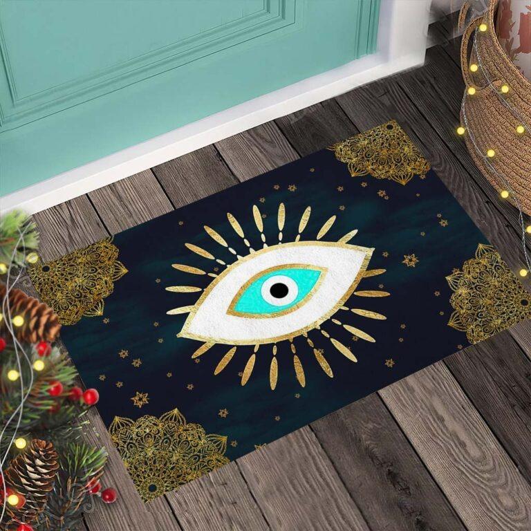 Evil eye doormat 8