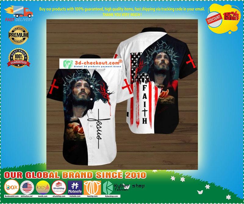 Faith jesus god hawaiian shirt 7