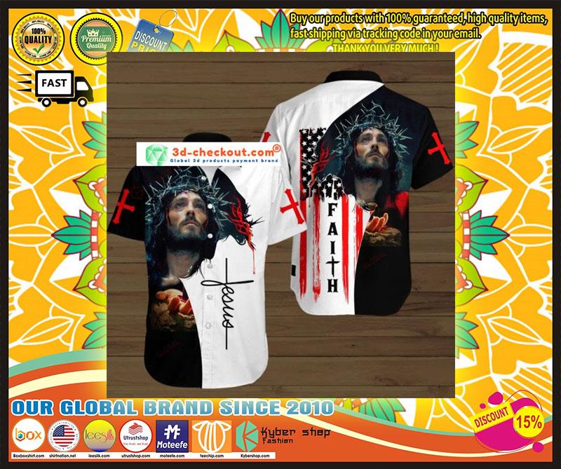 Faith jesus god hawaiian shirt 9