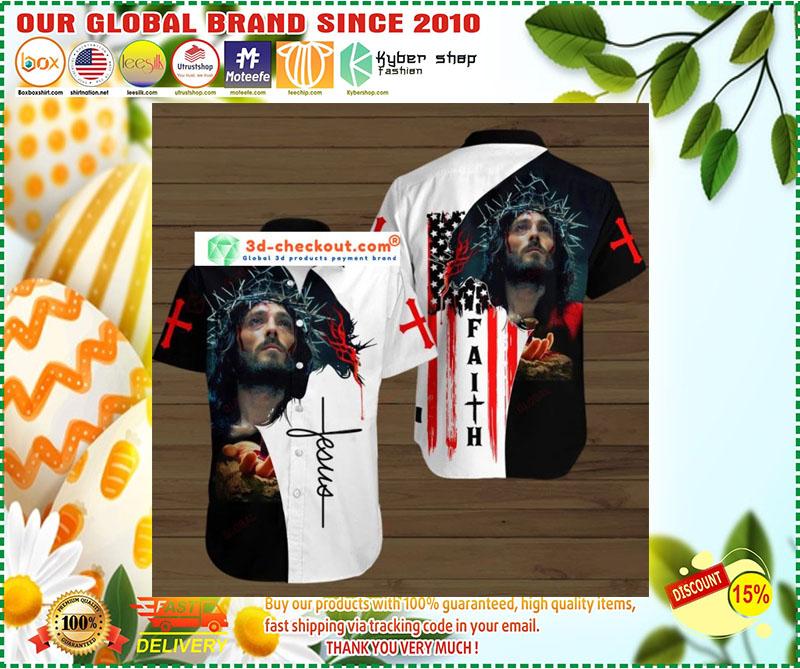 Faith jesus god hawaiian shirt 8