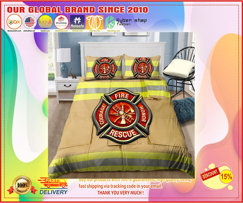Firefighter Fire Honor Rescue Courage bedding set 11