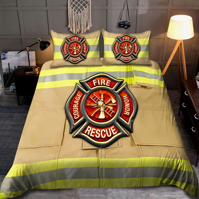 Firefighter Fire Honor Rescue Courage bedding set 10