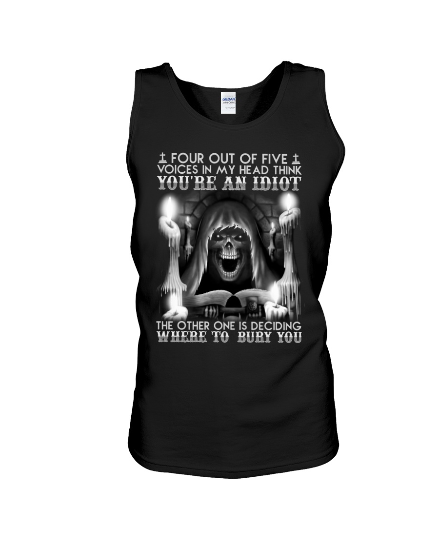 Four Out Of Five Voices In My Head Think You're An Idiot Shirt 10