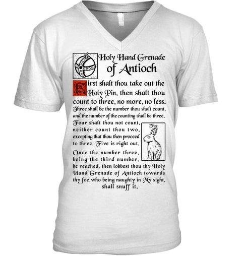 God Holy Hand Grenade Of Antioch Shirt 6