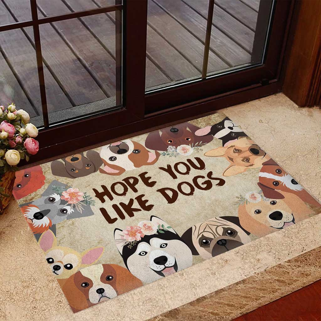 Hope you like dogs doormat 7