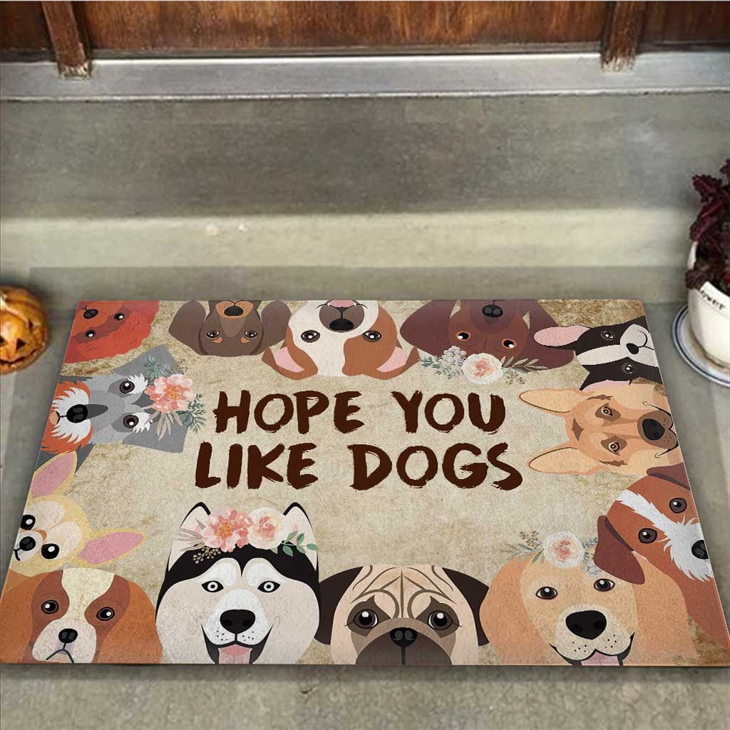 Hope you like dogs doormat 9