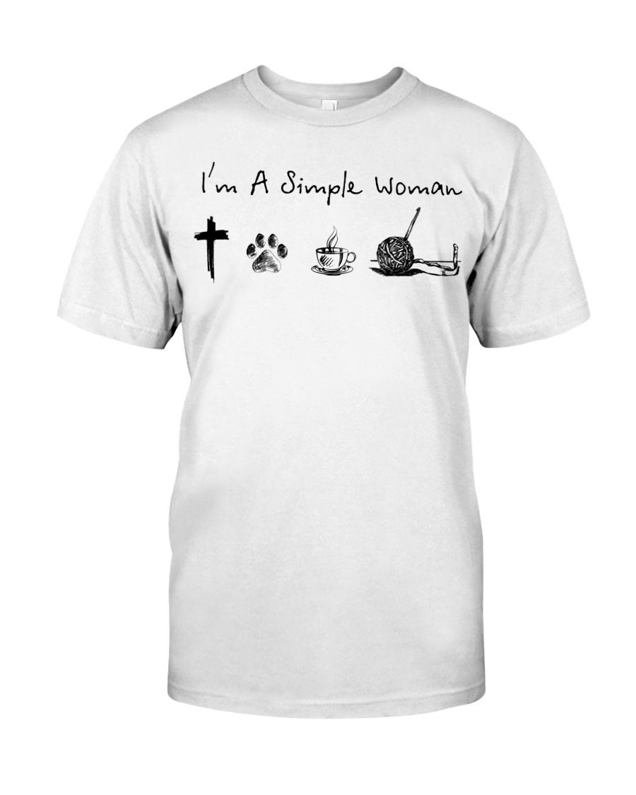 I'm A Smiple Woman Shirt 13