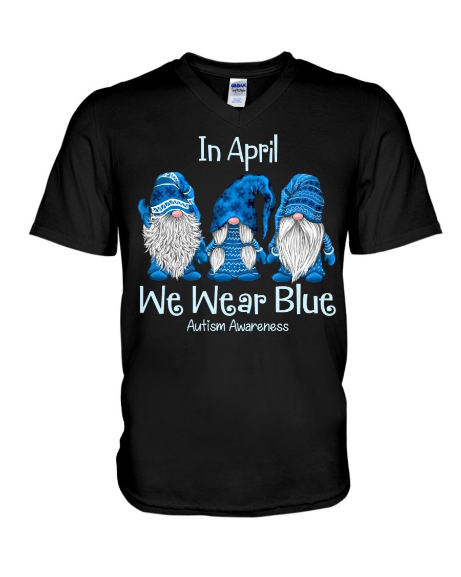 In April We Wear Blue Autism Awareness ShIRT 13