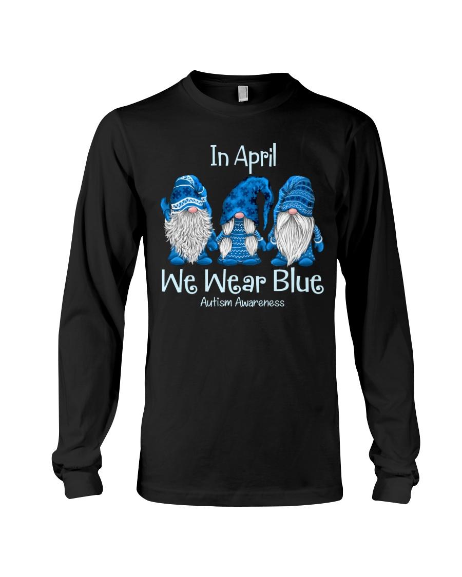 In April We Wear Blue Autism Awareness ShIRT 10