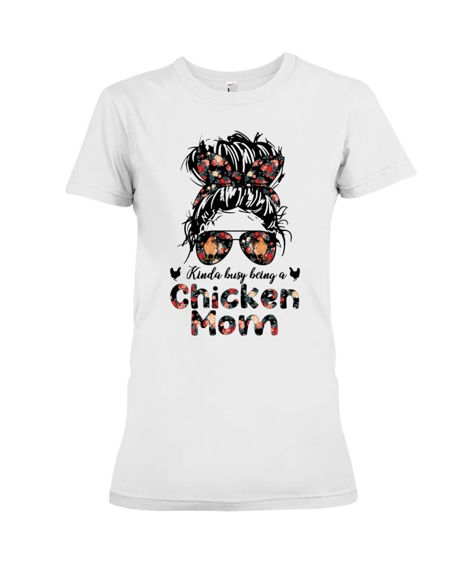 Kinda Busy Being A Chicken Mom Shirt 13