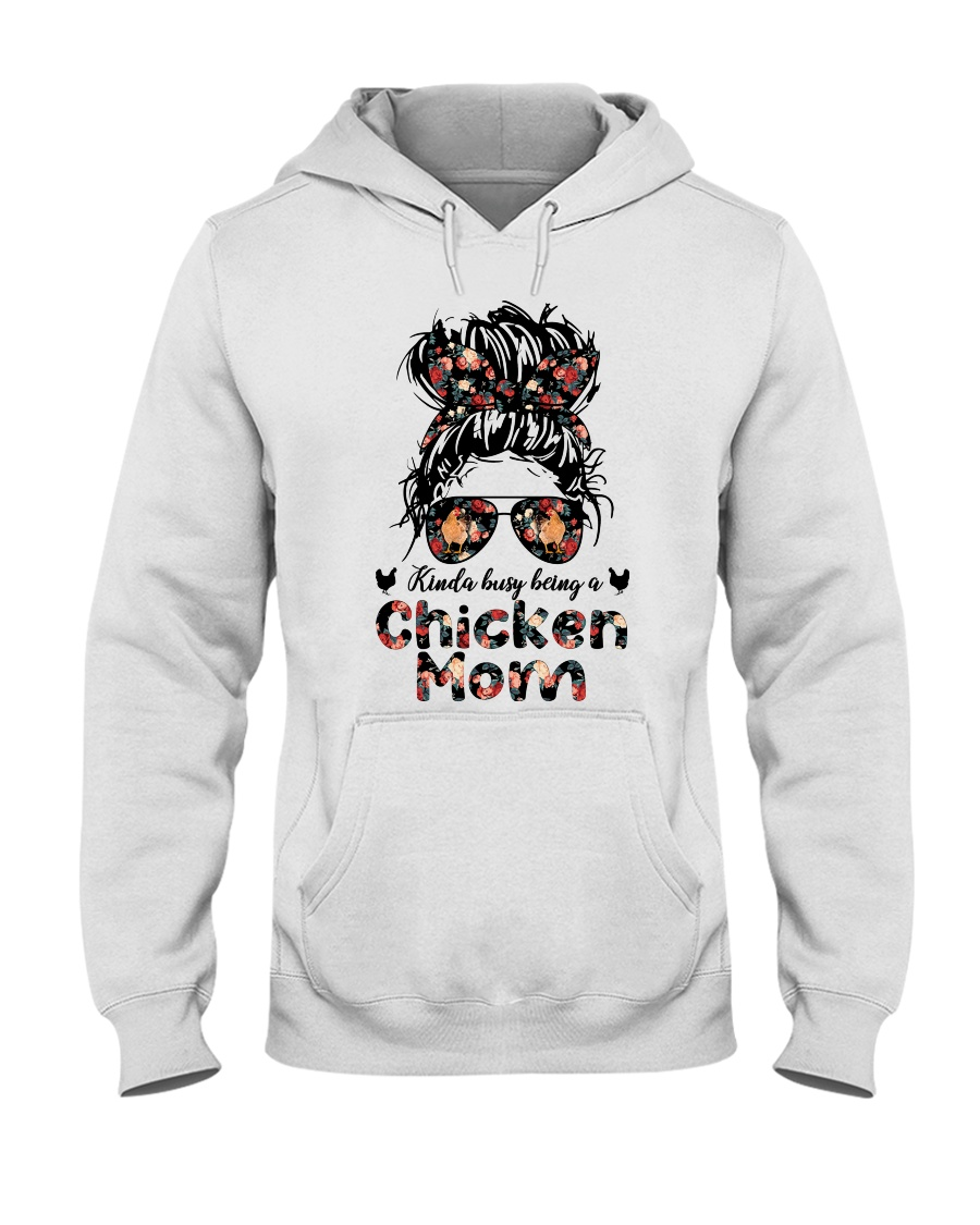 Kinda Busy Being A Chicken Mom Shirt 12