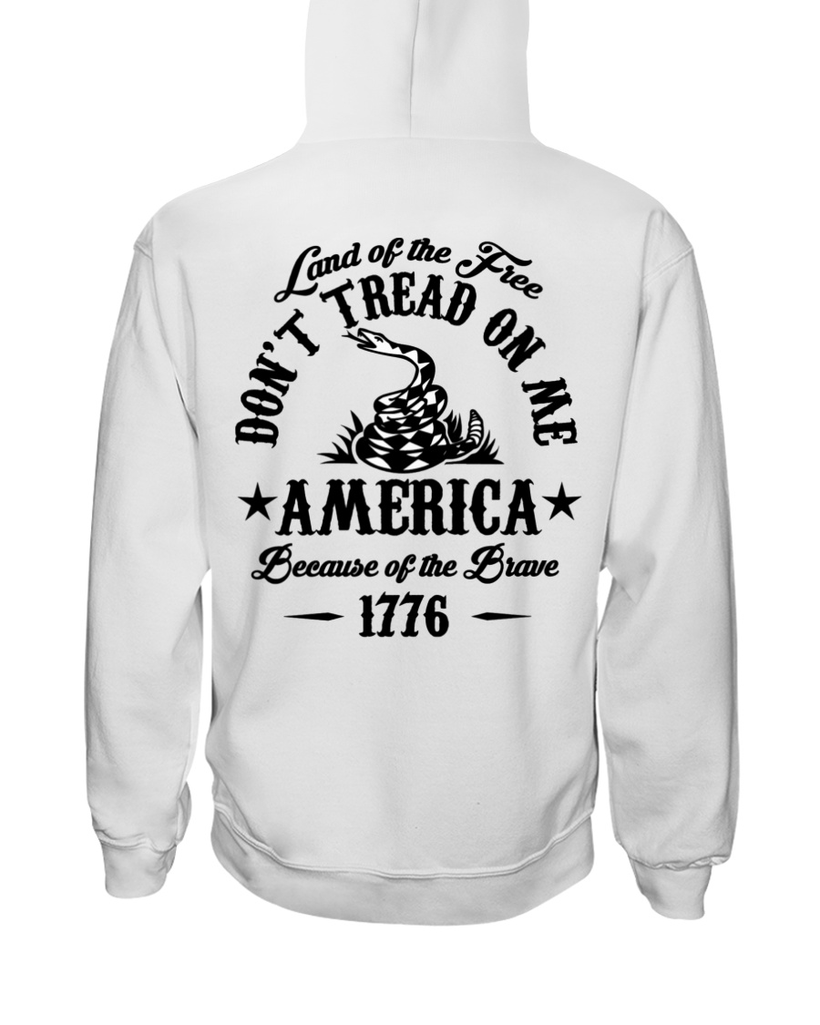 Land Of The Free Don't Tread On Me America Because Of The Brave 1776 10