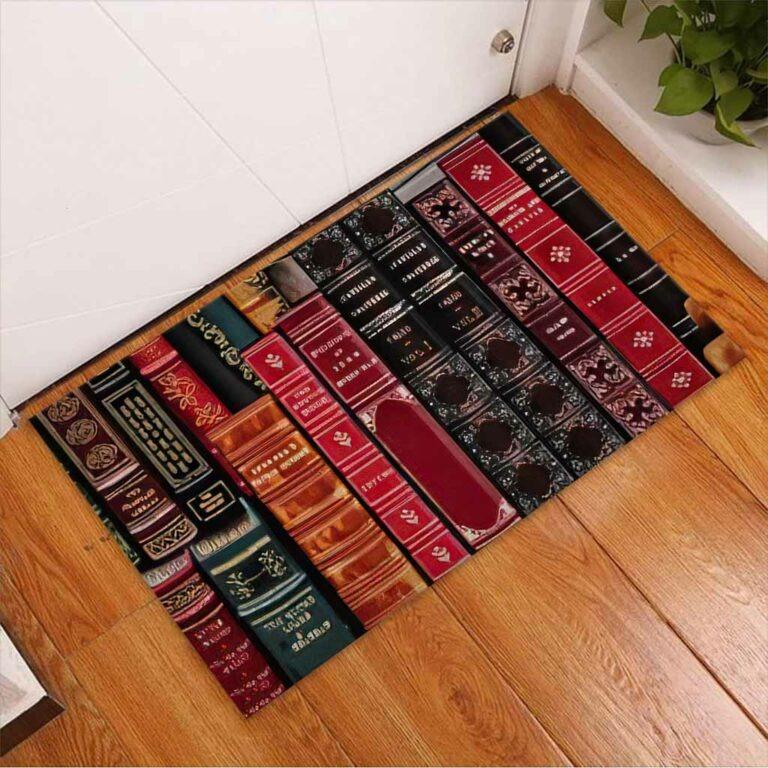 Librarian welcome doormat 7