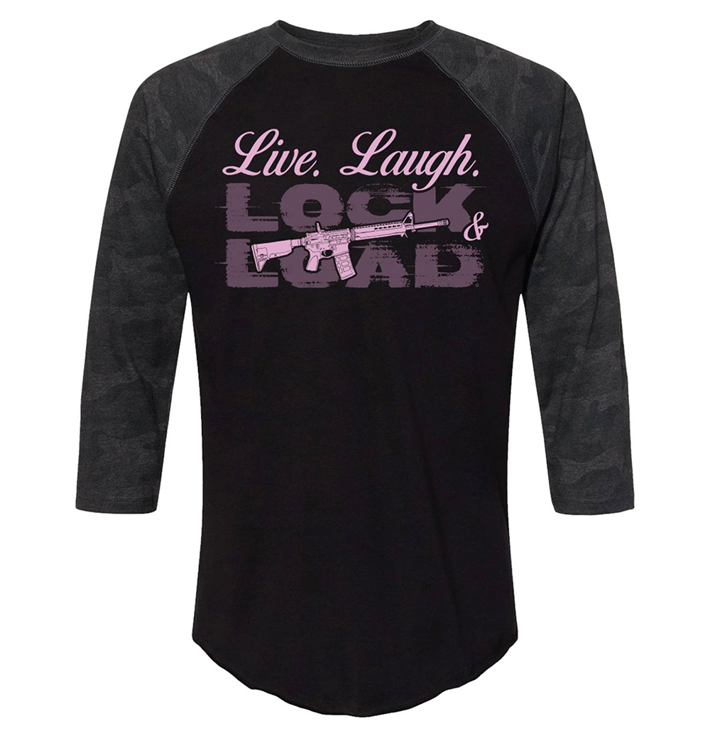 Live. Laugh. Lock Load and Gun Shirt 12