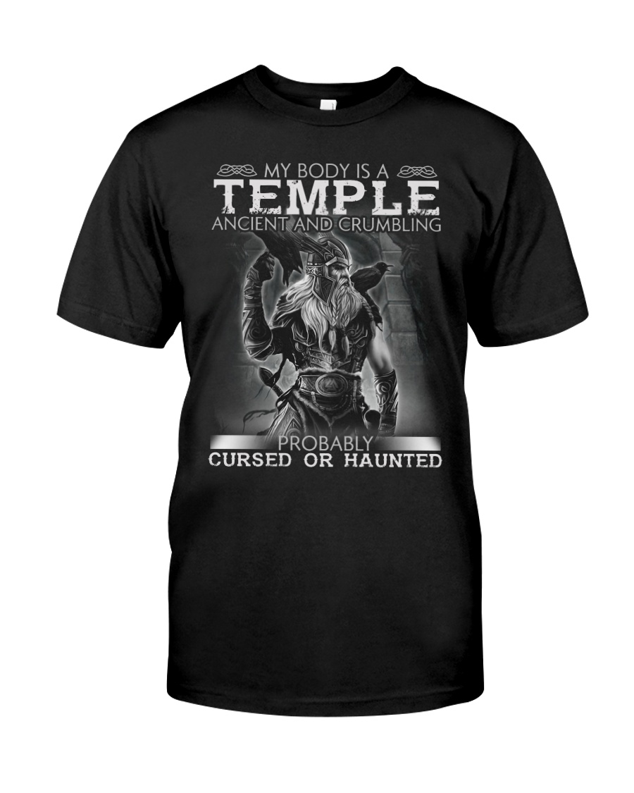 My Body Is A Temple Ancient And Crumbling Shirt 10