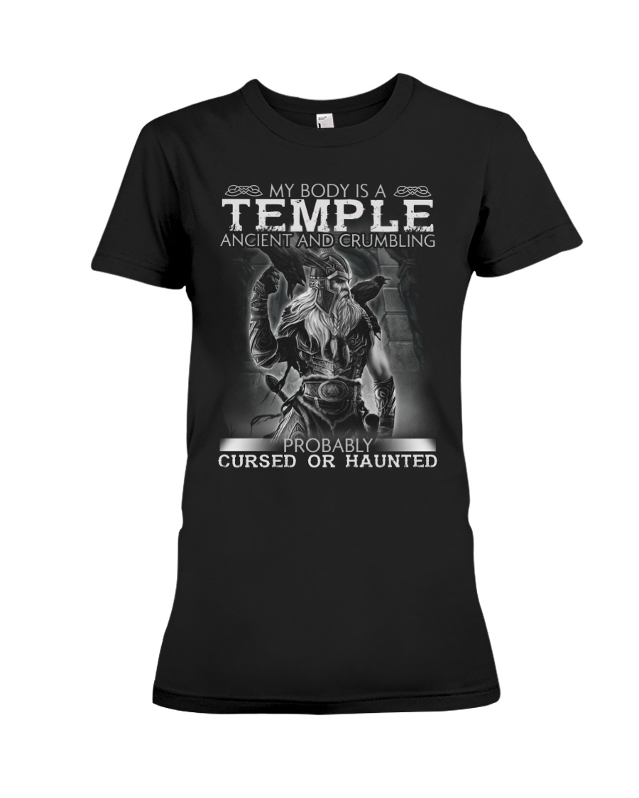 My Body Is A Temple Ancient And Crumbling Shirt 13
